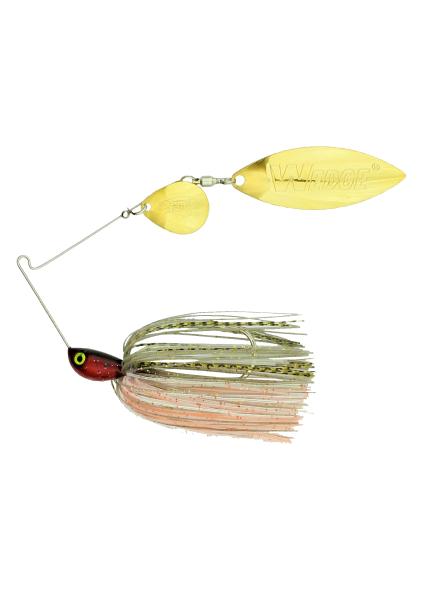 Stanley Lures Original Vibra Shaft Painted Blade Spinner Bait Bass Fishing 1//2oz